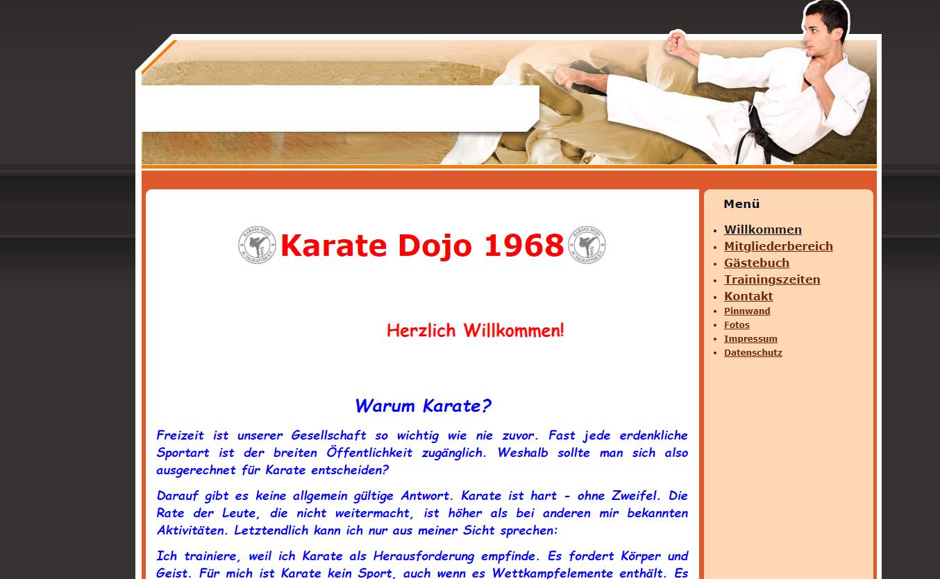 Zur Homepage vom Karate