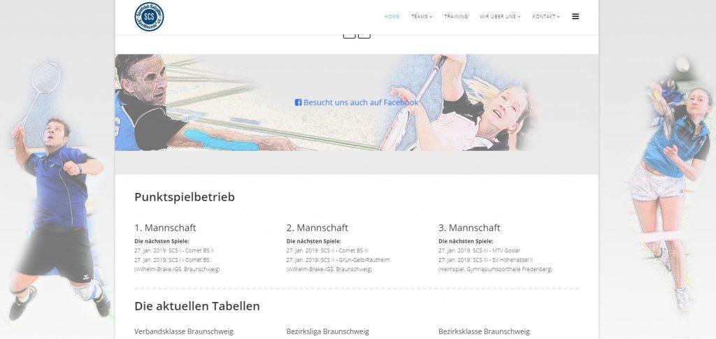 zur Homepage vom Badminton